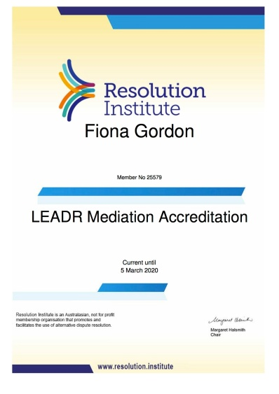 resolutioninstitutemembershipcertificate