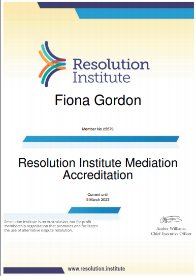 Mediation Accreditation 2023