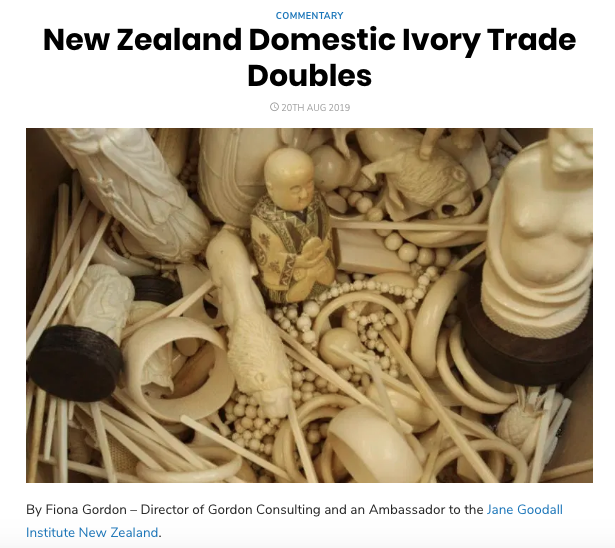NZ IVORY TRADE DOUBLES IMAGE